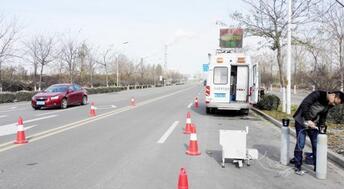 移动遥感检测车试运行 一秒完成尾气检测