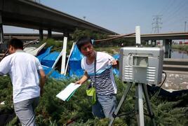 山西太原加装遥感监测仪器设备 严查企业违法排污