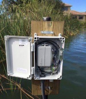 美国以物联网智能阀门传感器 远程监控湖面水位
