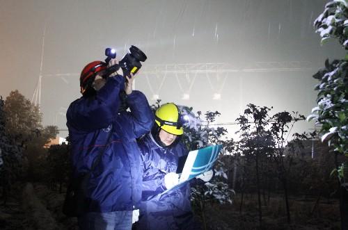 红外测温仪助力国网昆山供电公司开展电网红外测温
