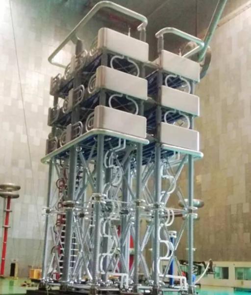 中国西电集团自主研发换流阀顺利通过绝缘试验