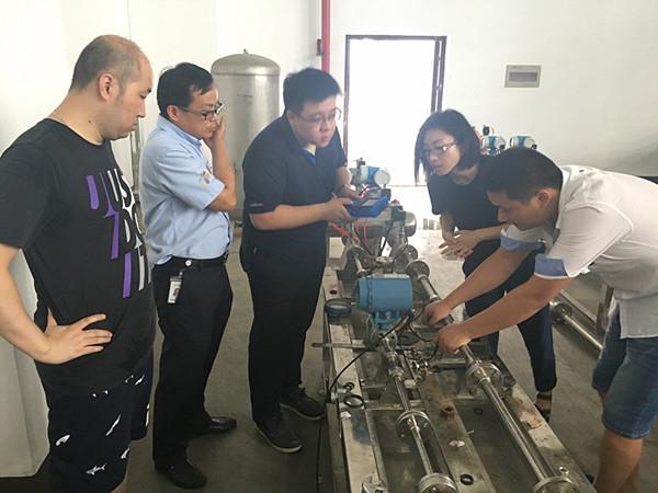 艾默生与江苏省计量院液体流量计量中心开展合作