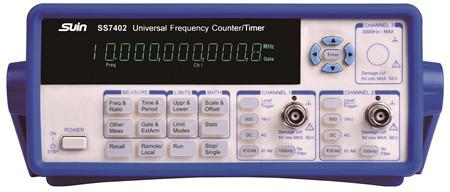 石家庄数英仪器SS7402型频率计数器