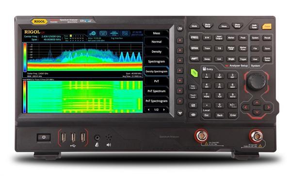 普源精电推出国内首款实时频谱分析仪RSA5000系列