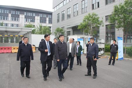 雪迪龙接待北京市委常委、副市长阴和俊一行参观调研