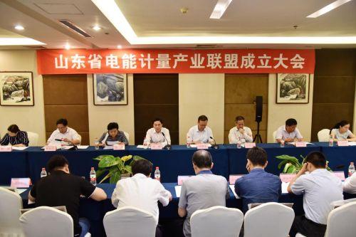 山东省电能计量产业联盟召开成立大会