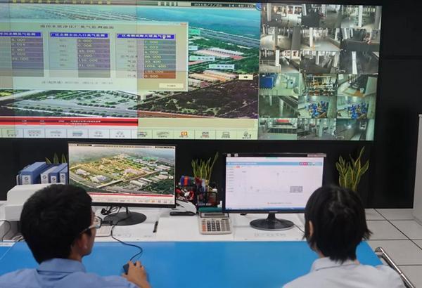 国内首个市政水处理行业臭气监测预警系统成功研发