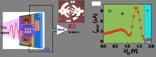 基于多电极结构的石墨烯热电太赫兹探测器研究获进展