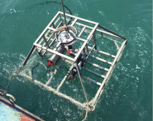 广西首套珊瑚礁海底有缆在线监测系统成功布放
