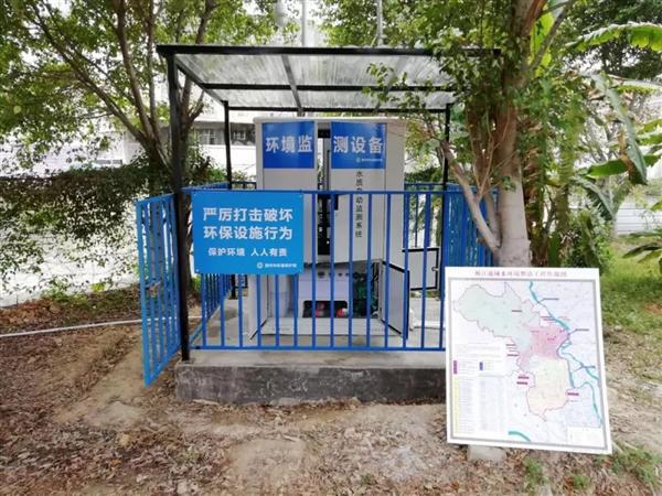 广东潮州枫江流域16个水质监测站点联网试运行