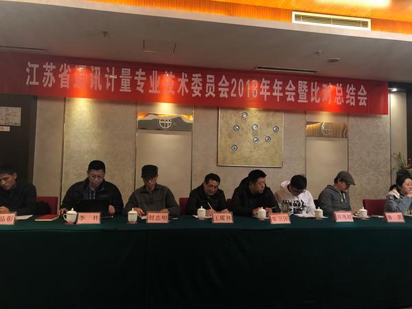 江苏省通讯计量专业委员会年会在江苏淮安召开