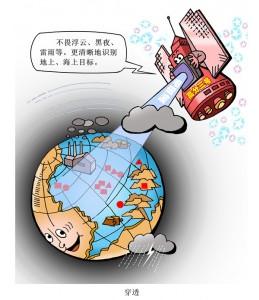 高分五號衛星發回觀測數據集 可反映大氣主要污染成分