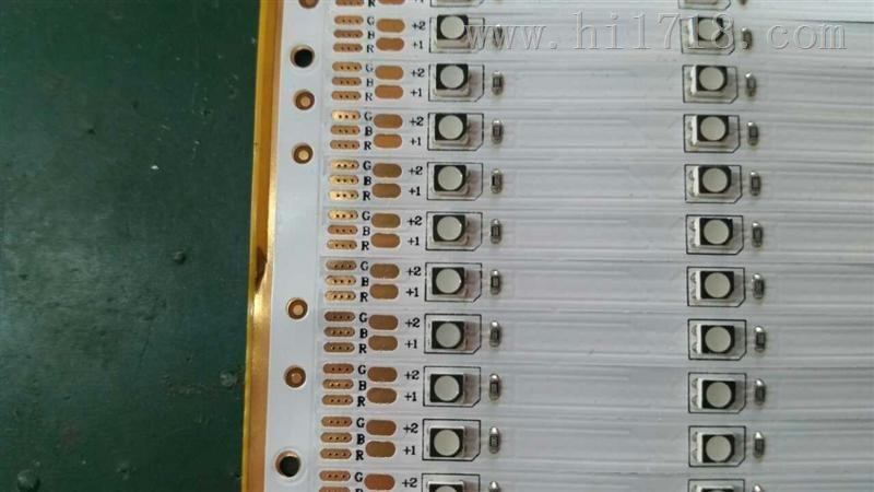 竟佳led软灯带电路板3528 单色 24v 60灯/条 6灯2电阻