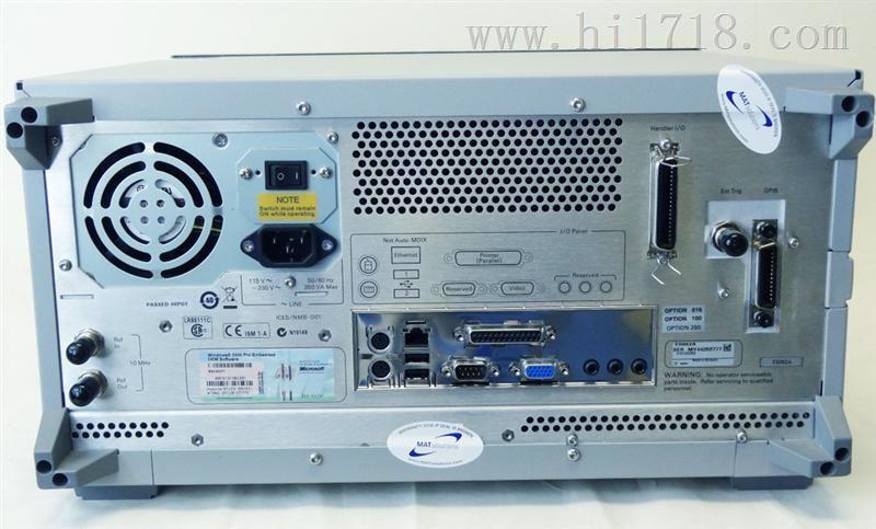 agilent e5062a 3g射频矢量网络分析仪安捷伦300khz-3