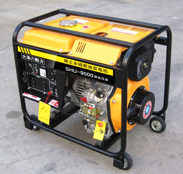 隆巴蒂尼10kw永磁柴油发电机
