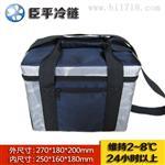 厂家提供定制冰包臣平C008便携式药品冷藏包防水内胆
