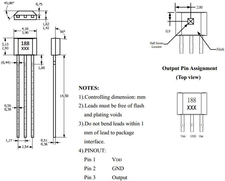 电机温度传感器接线图
