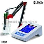 哈纳 HI4221实验室高精度酸度计|HI4221台式酸度计