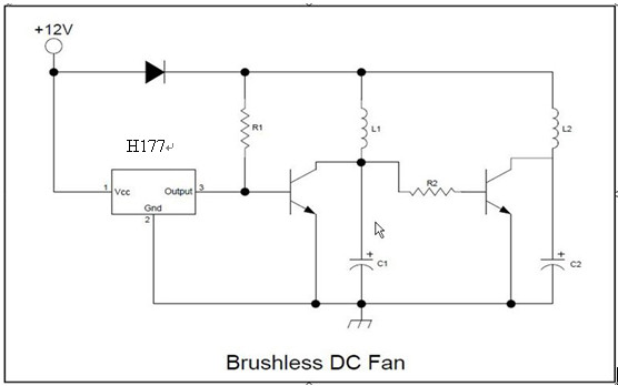 霍尔元件常用于无刷直流电机/风扇,门禁系统,转速检测,位置检测,电流