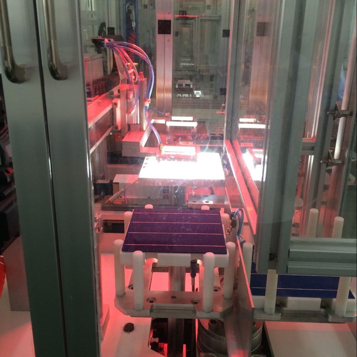 全自动光伏电池串焊机|串焊叠层一体化设备价格