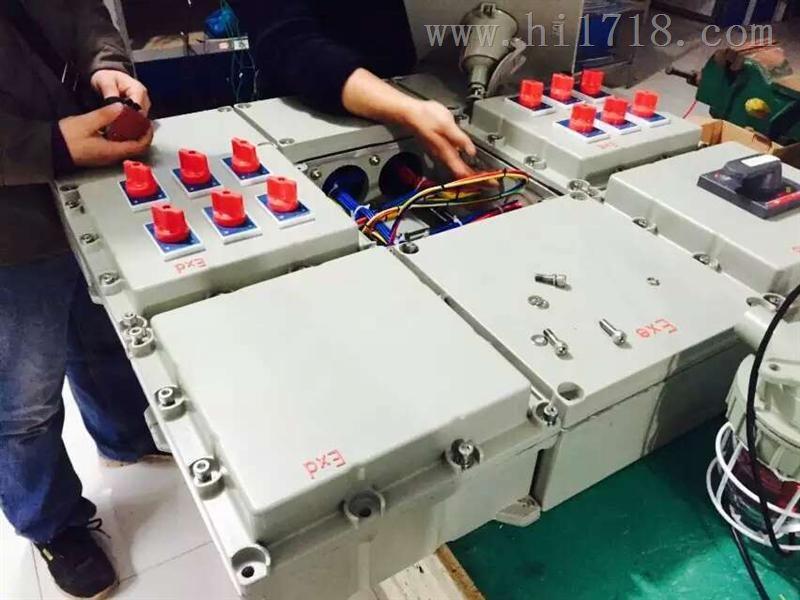 > bxm(d)明装防爆动力配电箱电器接线图 > 高清图片