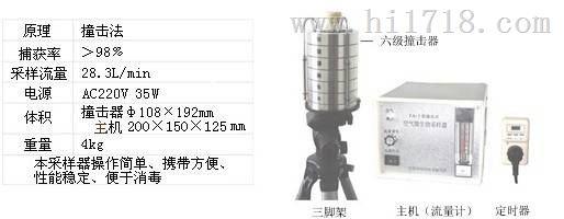 供应fa-3气溶胶采样器 9.0-10μm 生产厂家