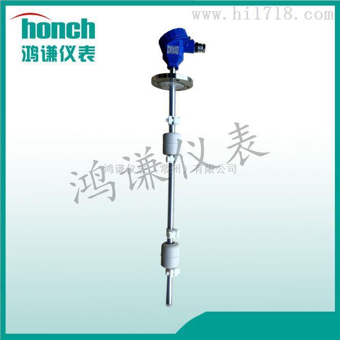 定制UHC-51D磁性浮球液位开关_衬四氟_带记忆_带报警_生产厂家