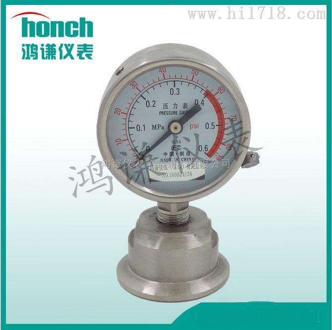 YTP-100B隔膜压力表