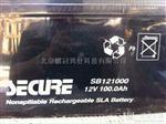 安全SECURE蓄电池12v100ah/SB121000产品价格