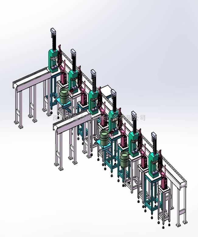 一体化全自动生产组装流水线,工业自动化组装流水线,