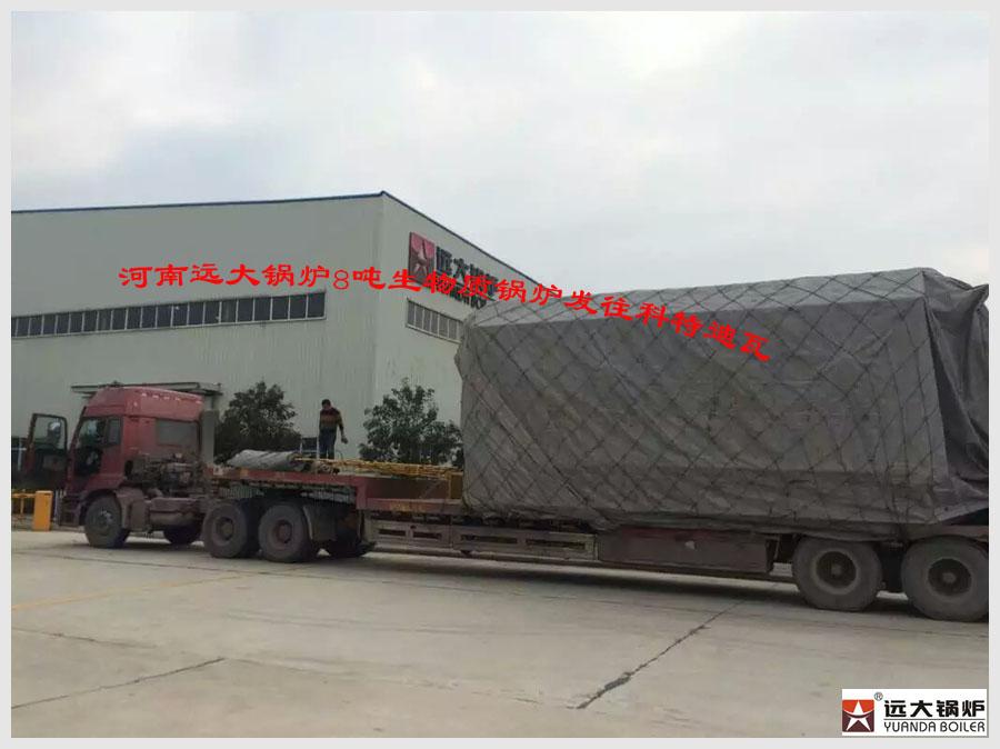 8吨生物质锅炉