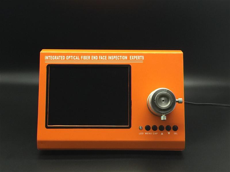 【高清拍照】一体式光纤端面检测仪,制造商全新一体式光纤端面检测仪深高新科技