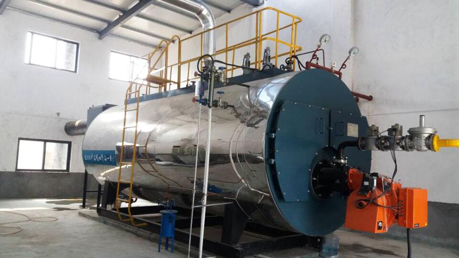 8吨燃气 天然气蒸汽锅炉全套报价
