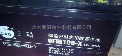 三瑞蓄电池12v65ah批发零售