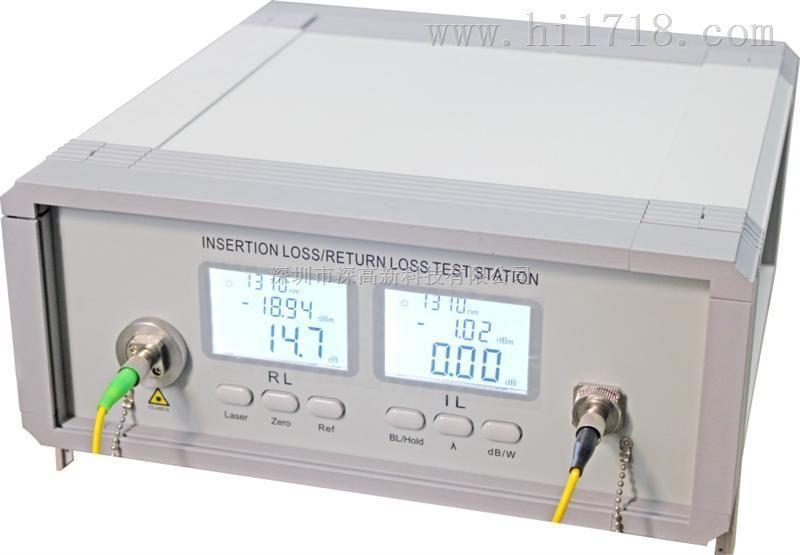 SGX-500国内首款光纤插回损测试仪,制造商深高新科技【光纤跳线插回损测试仪】