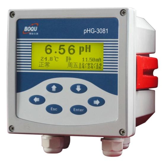 测RO水的PH计PHG-3081,新疆电厂RO水在线PH计生产厂家上海博取