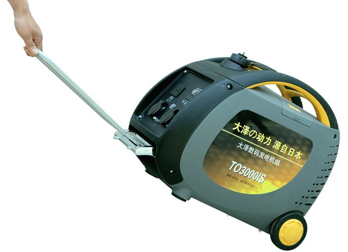 家用应急3KW数码变频发电机特点