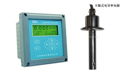 卫生型130度高温电导率DDG-2080,带卡盘的卡箍式电导率分析仪生产厂家