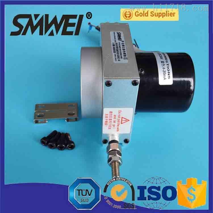 拉线位移传感器报价SMW-LX-08,品质上乘不秀钢拉线位移传感器报价斯铭威