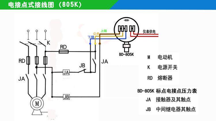 数字电接点压力表 bd-805k 标点凯迅数字压力表