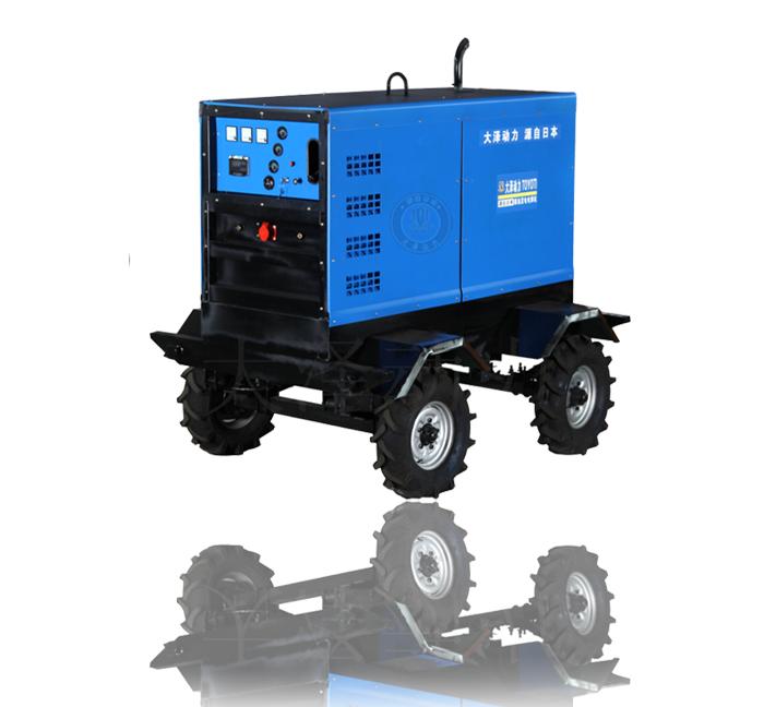 500A直流焊接柴油发电电焊机报价