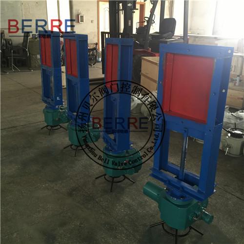 【专业生产厂家】300*350电动插板阀,扬州电动插板阀