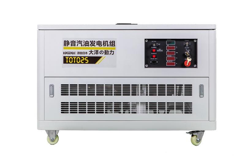 静音款汽油发电机25千瓦室内发电设备