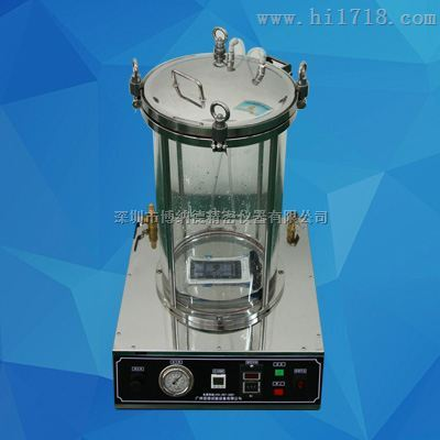 IPX8压力浸水试验机(桌上型全透明)