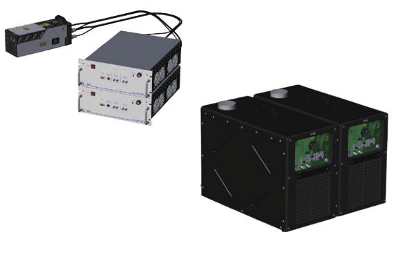 drl/qrl 系列高能量高重频灯泵yag 激光器