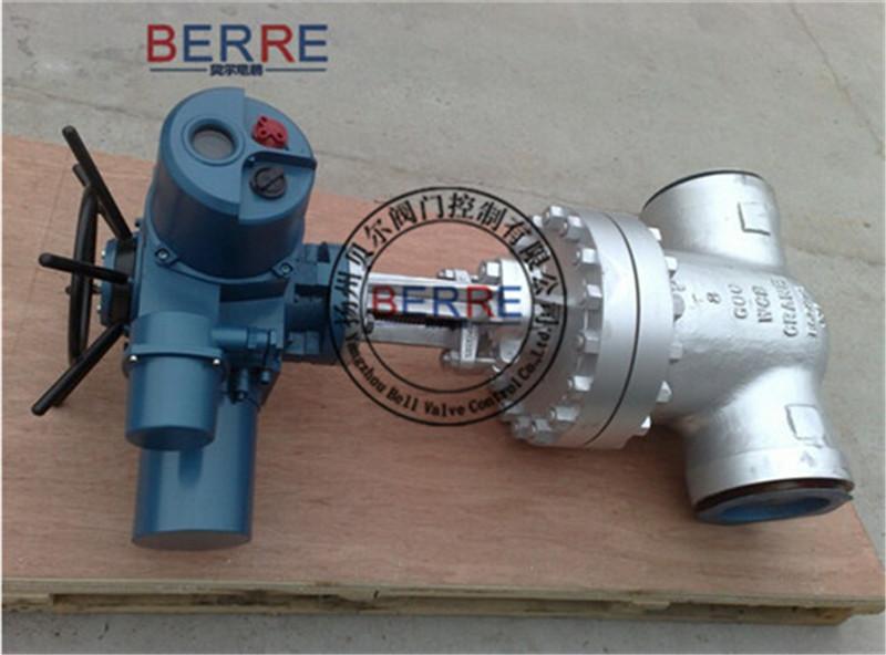 【厂家直销】电动焊接闸阀Z961H-16C-100,全新电动焊接闸阀DN100