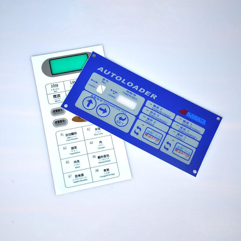 薄膜面板薄膜面贴设计定制,低价供应薄膜面板 薄膜面贴 ,将睿薄膜开关工厂