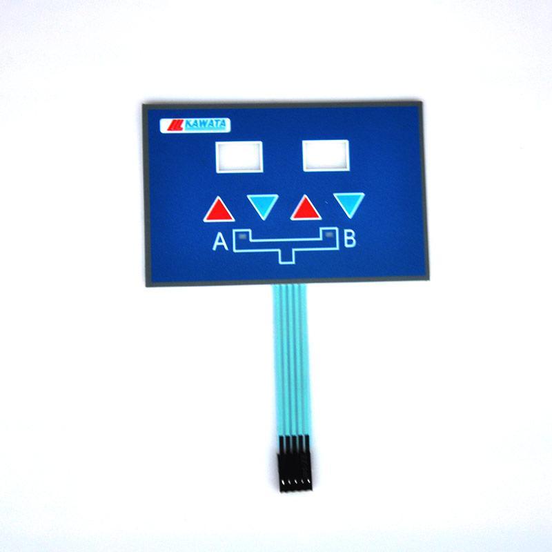 薄膜按键设计定制,批量生产薄膜按键,将睿薄膜开关工厂