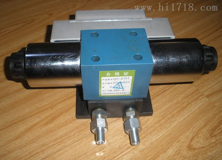 DPW-8-63G/B  DPW-10-4.0-G型电磁配压阀说明书