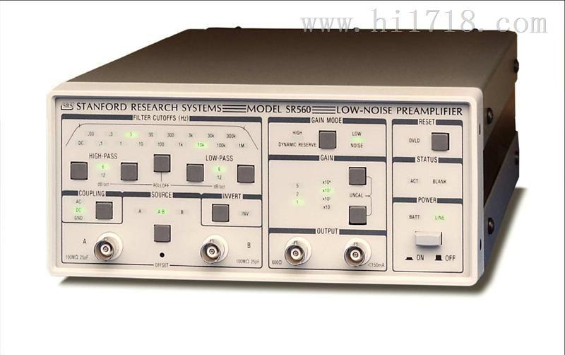 低噪声前置放大器 SR560 SRS质量保证